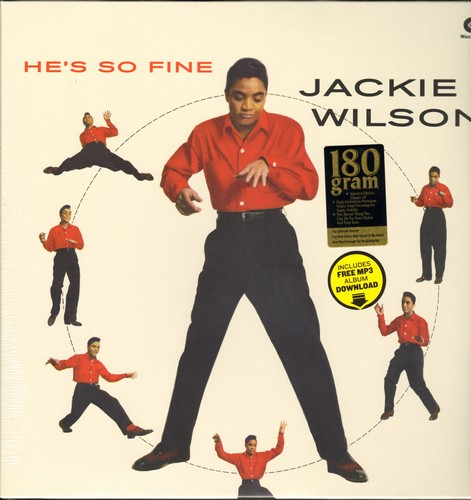 Wilson, Jackie - He's So Fine: To Be Loved, Reet Petite, Danny Boy, Etcetera (RARE 180 gram Virgin Vinyl reissue, EU pressing, SEALED, never opened!) - SEALED/SEALED - LP Records