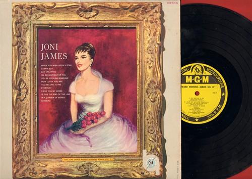 James, Joni - Award Winning Album No. II: When You Wish Upon A Star, Danny Boy, You Belong To Me, Dansero (vinyl MONO LP record) - VG7/VG7 - LP Records