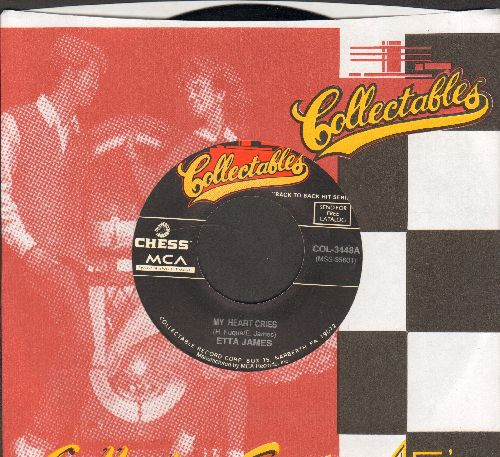 James, Etta - My Heart Cries/If I Can't Have You (double-hit re-issue with Collectables company sleeve) - NM9/ - 45 rpm Records