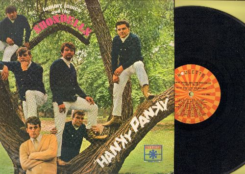 James, Tommy & The Shondells - Hanky Panky: Good Lovin', Shake A Tail Feather, Say I Am, Don't Throw Our Love Away (vinyl MONO LP record, back of cover water damaged) - VG7/G4 - LP Records