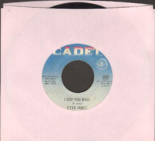 James, Etta - I Got You Babe/I Worhip The Ground You Walk On - VG7/ - 45 rpm Records