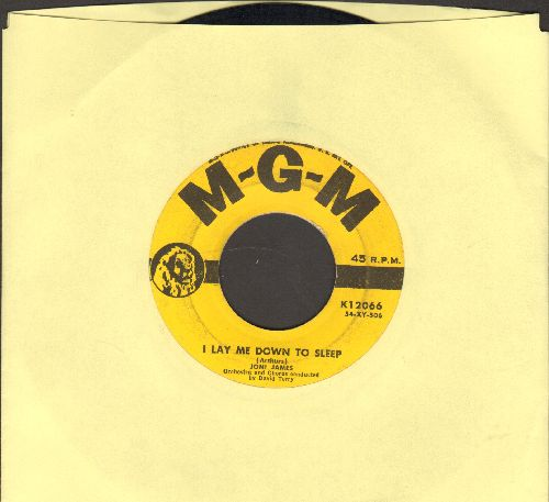 James, Joni - I Lay Me Down To Sleep/You Are My Love (yellow label first issue) - VG7/ - 45 rpm Records