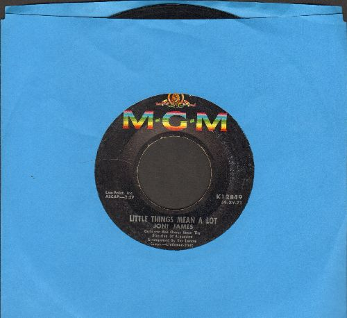 James, Joni - Little Things Mean A Lot/I Laughed At Love - EX8/ - 45 rpm Records