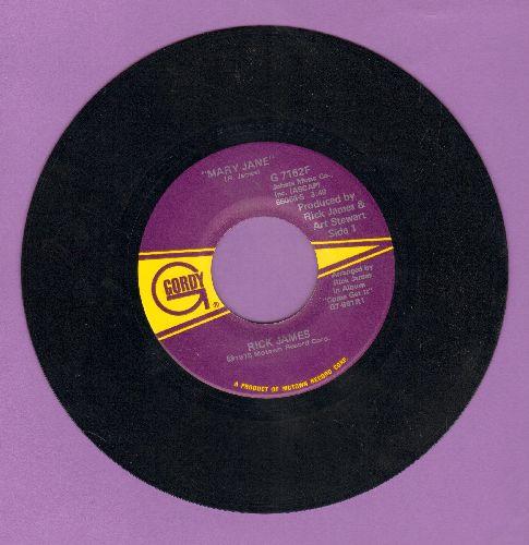 James, Rick - Mary Jane/Dream Maker - NM9/ - 45 rpm Records