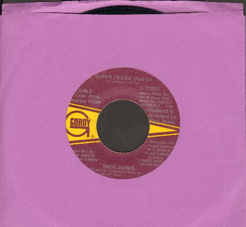 James, Rick - Super Freak (Parts 1 + 2) (wol) - VG7/ - 45 rpm Records