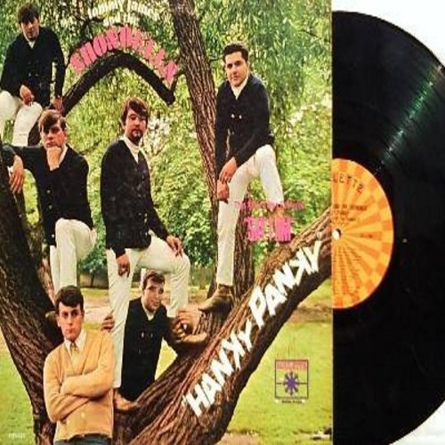 James, Tommy & The Shondells - Hanky Panky: Good Lovin', Shake A Tail Feather, Say I Am, Don't Throw Our Love Away (vinyl MONO LP record) - EX8/VG6 - LP Records