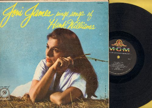 James, Joni - Joni James Sings Songs Of Hank Williams: Jambalaya. Your Cheatin' Heart, Half As Much, I Can't Help It, I'm So Lonesome I Could Cry (vinyl MONO LP record) - VG6/VG6 - LP Records