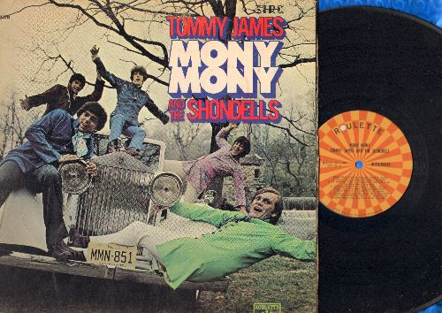 James, Tommy & The Shondells - Mony Mony: Get Out Now, Do Unto Me, Gingerbread ManSomebody Cares (vinyl STEREO LP record, gate-fold cover) - VG7/VG7 - LP Records
