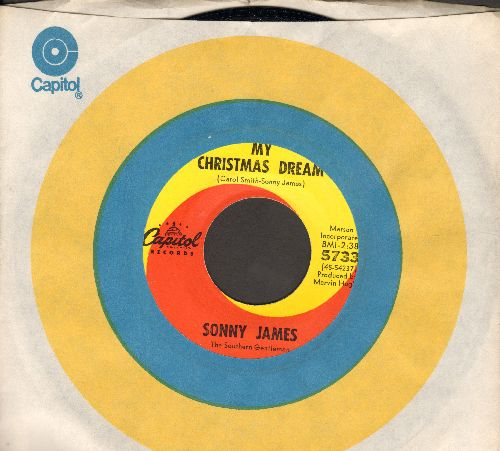 James, Sonny - My Christmas Dream/Barefoot Santa Claus (with Capitol company sleeve) - M10/ - 45 rpm Records