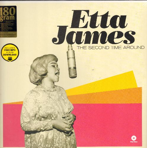 James, Etta - The Second Time Around: Seven Day Fool, Plum Nuts, One For My Baby, If I Can't Have You (EU 180 gram virgin vinyl re-issue of vintage R&B recordings, SEALED, never opened!) - SEALED/SEALED - LP Records