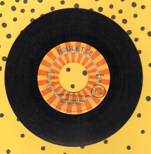 James, Tommy & The Shondells - I Think We're Alone Now/Gone, Gone, Gone - EX8/ - 45 rpm Records