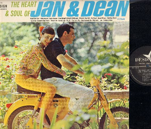 Jan & Dean - The Heart & Soul Of Jan & Dean: Roll & Shout, Down At The Shack, Heart & Soul, Uh Oh, Lovely Lips, Midsummer Nights Dream (vinyl MONO LP record) - NM9/EX8 - LP Records