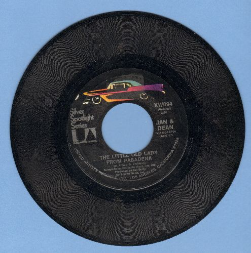 Jan & Dean - The Little Old Lady (From Pasadena)/Popsicle (double-hit re-issue) - NM9/ - 45 rpm Records
