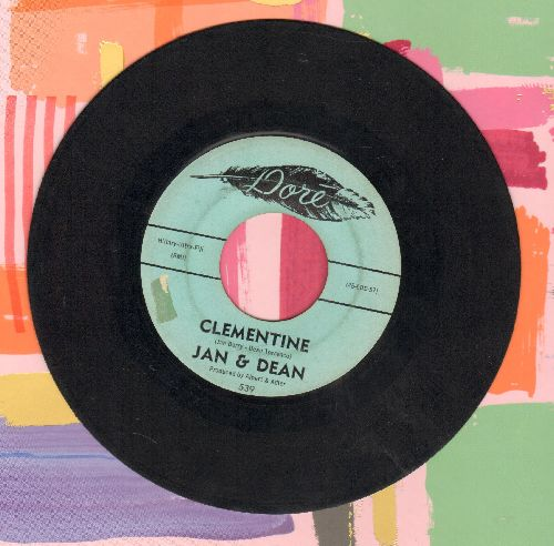 Jan & Dean - Clementine/You're On My Mind (sol) - EX8/ - 45 rpm Records