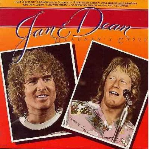 Jan & Dean - Dead Man's Curve: Linda, Surf City, Little Old Lady From pasadena, Sidewalk Surfin', Popsicle (vinyl LP record, 1979 issue) - NM9/NM9 - LP Records