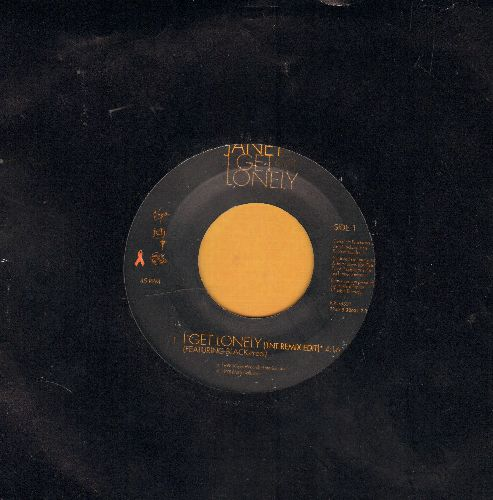 Jackson, Janet - I Get Lonely (TNT Remix)/I Get Lonely (Jam & Lewis Feel My Bass Mix) - M10/ - 45 rpm Records