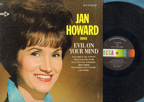 Howard, Jan - Evil On Your Mind: Last Time, You Go Your Way (I'll Go Crazy), We'll Sing In The Sunshine, Tippy Toing (vinyl STEREO LP record) - NM9/EX8 - LP Records