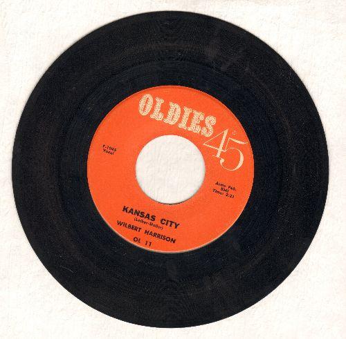 Harrison, Wilbert - Kansas City/Listen, My Darling (1970s re-issue) - EX8/ - 45 rpm Records