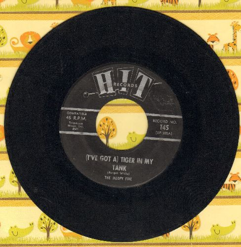 Jalope Five - (I've Got A ) Tiger In My Tank/Dancing In The Street (by Mary Sue & The Trams) (contemporary cover versions) - VG6/ - 45 rpm Records