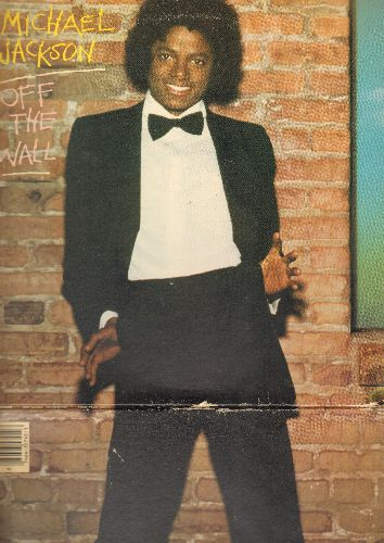 Jackson, Michael - Off The Wall: Don't Stop 'Til You get Enough, She's Out Of My Life, Rock With You 9vinyl STEREO LP record, gate-fold cover) - VG7/VG7 - LP Records