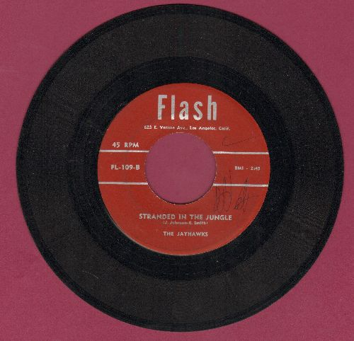 Jayhawks - Stranded In The Jungle/My Only Darling (double-hit re-issue of vintage Doo-Wop recordings) - EX8/ - 45 rpm Records