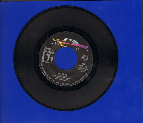 Jay & The Americans - She Cried/Come A Little Bit Closer (double-hit re-issue) - EX8/ - 45 rpm Records