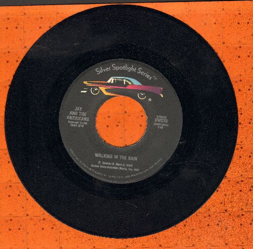 Jay & The Americans - Walking In The Rain/This Magic Moment (double-hit re-issue) - EX8/ - 45 rpm Records