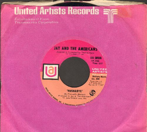 Jay & The Americans - Hushabye/Gypsy Woman (MINT condition with United Artists company sleeve) - M10/ - 45 rpm Records