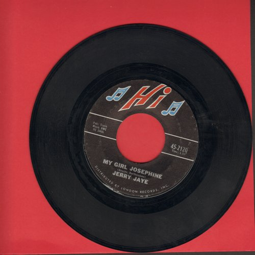 Jaye, Jerry - My Girl Josephine/Five Miles From Home - EX8/ - 45 rpm Records