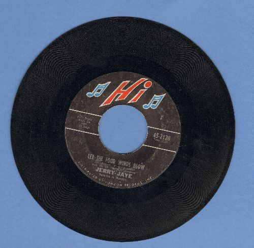 Jaye, Jerry - Let The Four Winds Blow/Singing The Blues - EX8/ - 45 rpm Records
