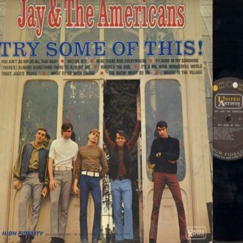 Jay & The Americans - Try Some Of This!: Nature Boy, Here There And Everywhere, What To Do With Laurie (vinyl MONO LP record) - EX8/EX8 - LP Records