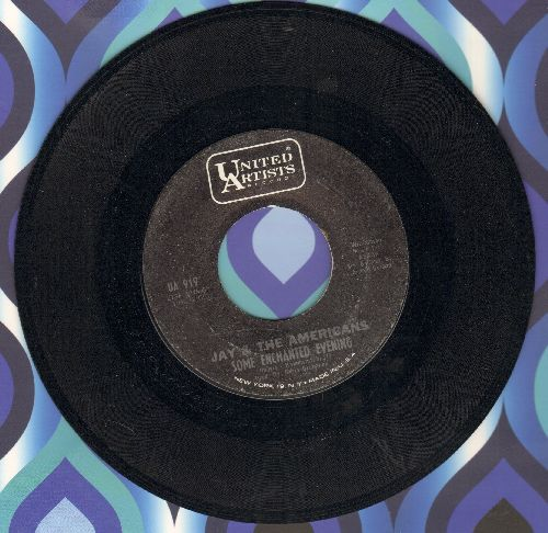 Jay & The Americans - Some Enchanted Evening/Girl  - NM9/ - 45 rpm Records