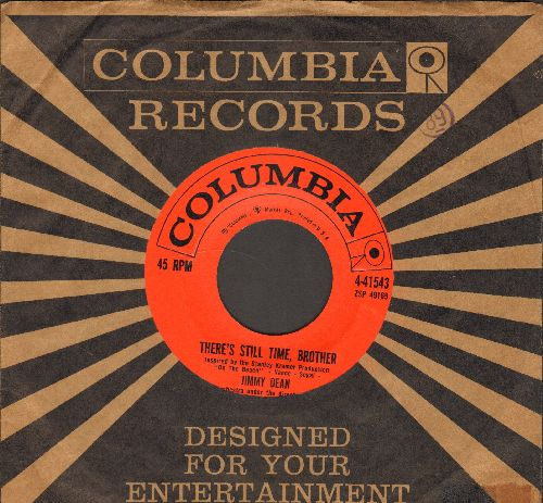Dean, Jimmy - There's Still Time, Brother/Thanks For The Dream (with Columbia company sleeve) - EX8/ - 45 rpm Records