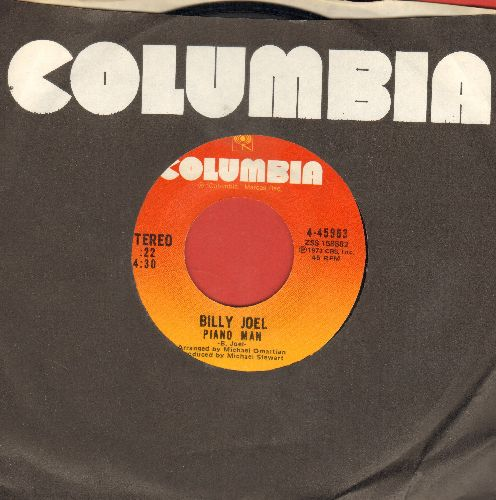 Joel, Billy - Piano Man/You're My Home (with Columbia company sleeve) - NM9/ - 45 rpm Records