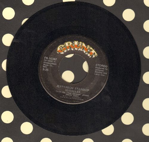 Jefferson Starship - Miracles/Al garimasu (There Is Love) - EX8/ - 45 rpm Records