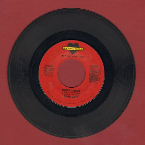 Jett, Joan - Dirty Deeds (Done Dirt Cheap)/Let It Bleed - EX8/ - 45 rpm Records