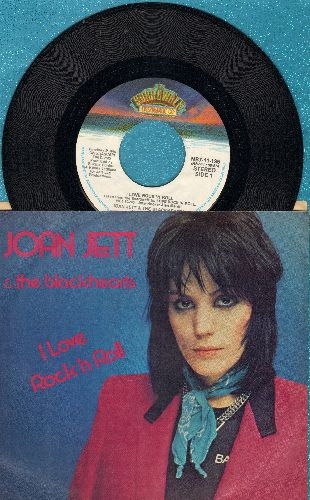 Jett, Joan & The Blackhearts - I Love Rock 'N' Roll/You Don't Know What You've Got (with picture sleeve) - NM9/NM9 - 45 rpm Records