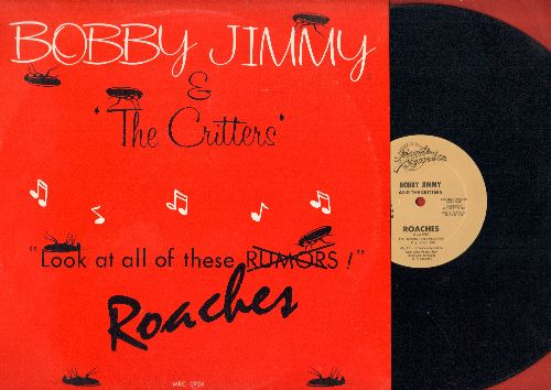 Bobby Jimmy & The Critters - Roaches (4:58)/Roaches (Instrumental 4:58) (12 inch Maxi Single with picture cover) - NM9/EX8 - Maxi Singles