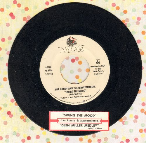 Jive Bunny & The Mastermixers - Swing The Mood/Glenn Miller Medley (with juke box label) - NM9/ - 45 rpm Records
