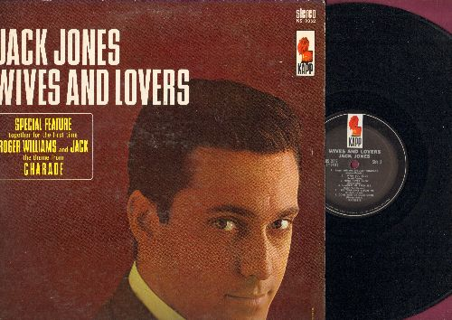 Jones, Jack - Wives And Lovers: Charade, Come Rain Or Come Shine, Toys In The Attic, Fly Me To The Moon (vinyl STEREO LP record) - NM9/EX8 - LP Records