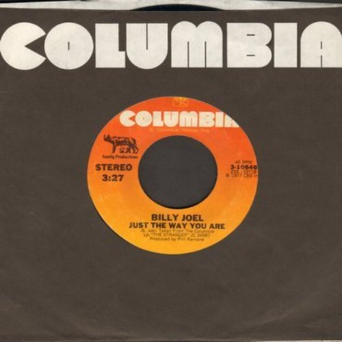 Joel, Billy - Just The Way You Are (GRAMMY WINNER Best Song)/Get It Right The First Time (MINT condition with Columbia company sleeve) - M10/ - 45 rpm Records
