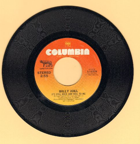 Joel, Billy - It's Still Rock And Roll To Me/Through The Long Night  - EX8/ - 45 rpm Records