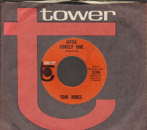 Jones, Tom - Little Lonely One/That's What We'll All Do (with vintage Tower company sleeve) - VG7/ - 45 rpm Records