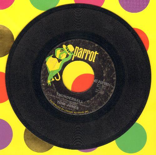Jones, Tom - Thunderball (Theme from James Bond Film)/Key To My Heart - VG7/ - 45 rpm Records