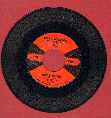 Johnson, Marv - Come To Me/Whisper (ssol) - EX8/ - 45 rpm Records