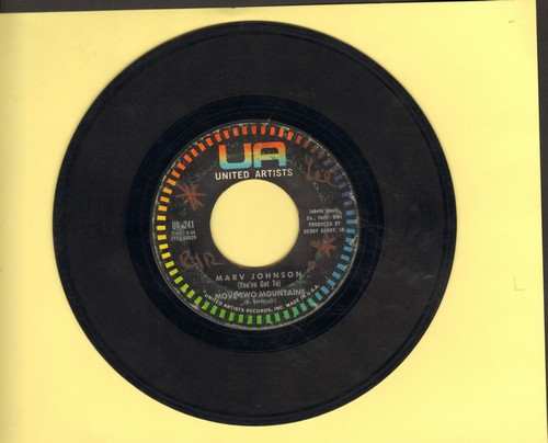 Johnson, Marv - (You've Got To) Move Mountains/I Need You  - VG7/ - 45 rpm Records