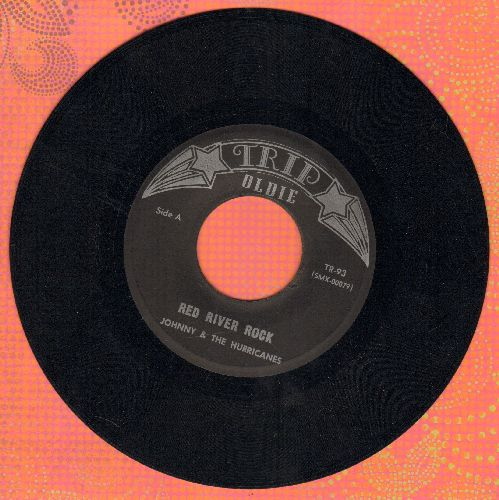 Johnny & The Hurricanes - Red River Rock/Reville Rock (early re-issue) - NM9/ - 45 rpm Records