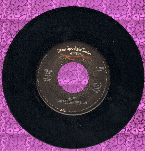 John, Robert - Sad Eyes/Sherry (double-hit re-issue) - EX8/ - 45 rpm Records