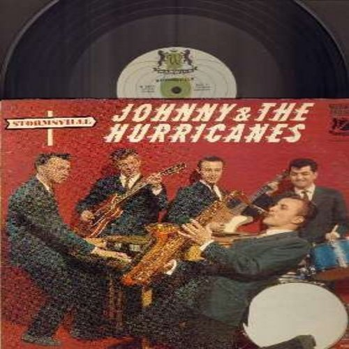 Johnny & The Hurricanes - Stormsville: Cyclone, Time Bomb, Hot Fudge, Catnip, Reveille Rock, Milk Shake, Rockin' 'T, Bean Bag (vinyl MONO LP record, MINT condition vinyl!) - EX8/VG7 - LP Records