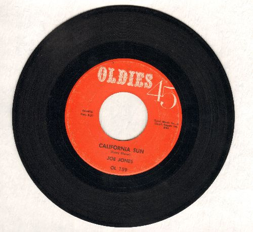 Jones, Joe - California Sun/You Talk Too Much (early double-hit re-issue) - EX8/ - 45 rpm Records
